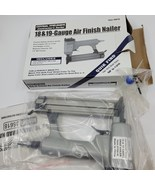 Central Pneumatic 18&19 Gauge Air Finish Nailer Model 36618. New, open box  - $27.00