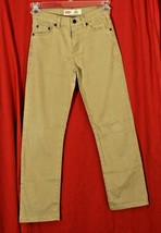 Levi's 514 Straight Fit Khakis Pants Jeans W/Adjustable Waist Boys 12 26... - $22.28