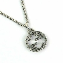 Gucci Necklace Sv925 Silver Classic Popularity F/S - $375.32