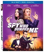 The Spy Who Dumped Me [Blu-ray+DVD+Digital, 2018]
