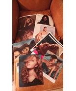 Lot of 8 Moroccan Oil Advertising Pages w top Models Rosie Huntington Wh... - $8.99