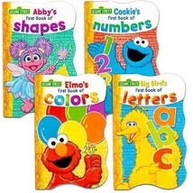 Sesame Street First Books Series; BIG Bird's Letters, Abby's Shapes, Elm... - $15.56
