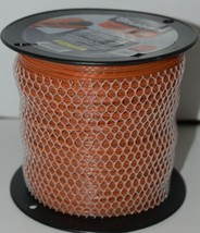 Husqvarna 596781301 Titanium X Pro Trimmer Line Orange 690 ft Sz .105 Spooled image 1