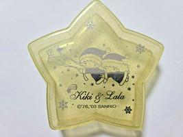 Little Twin Stars Plastic Case Yellow Old SANRIO 2003' Retro Appendix Rare - $30.86