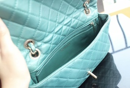 100% Authentic Chanel Limited Edition Turquoise Jewel CC Flap Bag GHW image 6