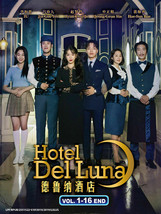 Korean Drama Hotel Del Luna Vol.1-16 End Korean Drama DVD Eng Sub Ship From USA