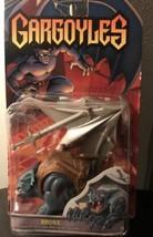 GARGOYLES BRONX Figure with Attack Jaw & Glider Wing 1995 Kenner  - $54.99
