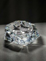 """Baccarat Faceted  Ashtray 7"""" with Canted Profile - $425.00"""