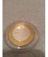 Vintage Uncirculated Limited Edition Four Queens Winter 10.00 Gaming Tok... - $26.97