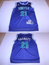 Men's Minnesota Timberwolves Kevin Garnett M Embroidered Jersey (Royal Blue) Adi - $46.74