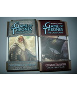A Game of Thrones chapter pack lot of 2 the tower of the hand chasing dr... - $10.98