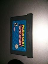 Mario Kart Super Circuit (Nintendo Game Boy Advance, 2001) loose, tested... - $8.33
