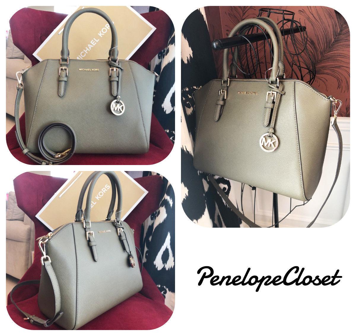 b71eb38b39413 Nwt Michael Kors Saffiano Leather Ciara and 50 similar items. S l1600