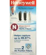 Honeywell - HRF-N2 - True HEPA Replacement Filter N - Pack of 2 - $59.35