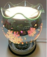 Electric Touch Fragrance Lamp/Oil Burner/Wax Warmer/Night Light with 3D ... - $24.74
