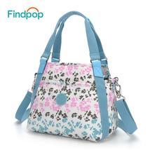 New Floral Print Handbags Women Crossbody Bags 2018 Fashion Nylon Shell ... - $36.09