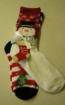 Christmas Socks, Ladies, Sock Size 9-11 (Shoe 5-9) By Gold Medal, 2 Pair... - $7.99
