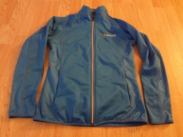 Women's Microsoft S Athletic Jacket Eleveate Sport (Light Blue) - $23.14