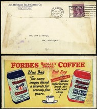 Forbes Coffee Multicolor St. Louis 9/26/34 Advertising Cover - Stuart Katz - $80.00