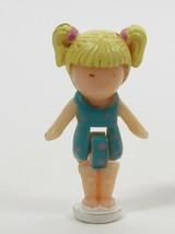 1992 Vintage Lot Polly Pocket Doll Dolphin Pen Pal - Tiny Tina Bluebird - $7.00