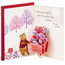 Hallmark Paper Wonder Pop Up Valentines Day Card for Anyone Beary Loved ... - $21.64