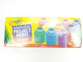 Crayola Washable Project Paint Classic for Kids Crafts & Painting - 10 C... - $15.95