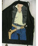 ICUP Star Wars Han Solo Character Apron Black One Size fits most - $18.80