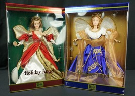 Barbie Holiday Angel Collection 2000 2001 New - $42.46