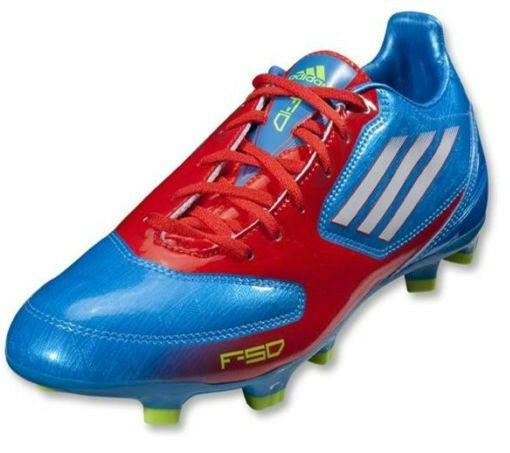 NEW Men's adidas F10 TRX FG Soccer Cleats Size 11 Blue/White/Core Energy