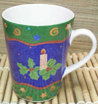 Sango Winter Spirit Cup Potpourri Sue Zipkin Christmas Mug 055429 - $18.80
