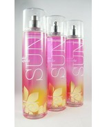 (3) Bath & Body Works Golden Magnolia Sun Pink Gold Fragrance Mist 8oz New - $31.32