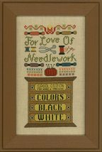 For The Love Of Needlework cross stitch chart Elizabeth's Designs  - $9.00