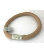 Brighton Woodstock Stone Leather Bracelet, Size M/L, New - $37.99