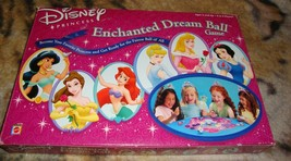 Disney Princess Enchanted Dream Ball Board Game 2001 Mattel-Complete - $39.00