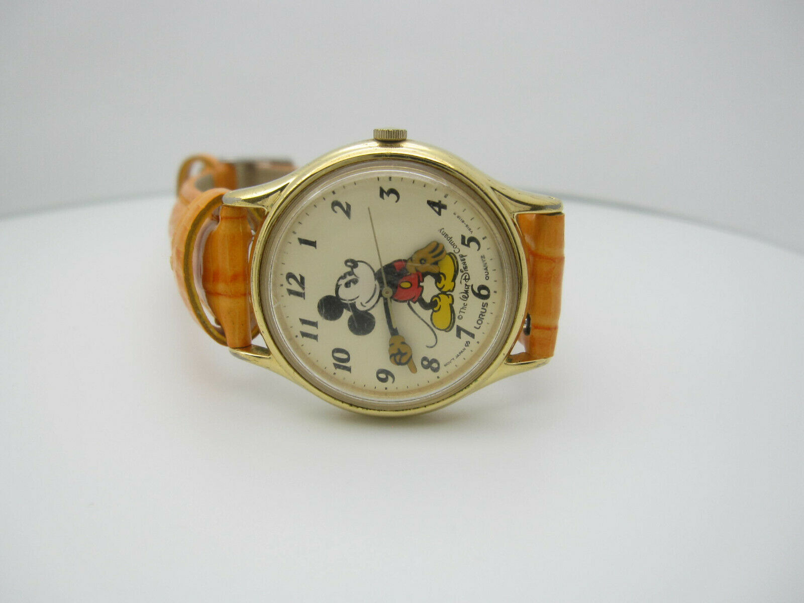 Vintage Mickey Mouse Quartz WR Analog Dial Watch (B956) V515-6118R image 10