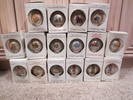 VINTAGE LOT OF 16 BERTA HUMMEL YEARLY CHRISTMAS ORNAMENTS IN BOXES WISCO... - $139.99