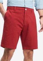 "Tommy Hilfiger Men's Jerry Gingham 9"" Shorts, Size 35, MSRP $65 - $34.64"