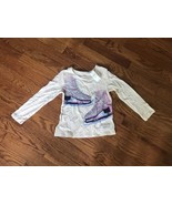 Baby Gap Girl's Ice Skate Shirt Size 4 Years NEW NWT - $7.69