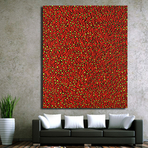 1 Pcs Yayoi Kusama Red Tadpole Poster Wall Picture Canvas Painting 24x30... - $39.99