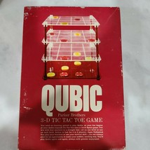 Vintage 1965 QUBIC Family Tic Tac Toe Game by Parker Brothers-no instruc... - £10.24 GBP