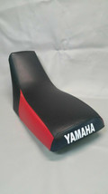 Yamaha TRI-MOTO YTM225 Seat Cover 1983-1986 In Black w/RED Rear Sides (St) - $42.95