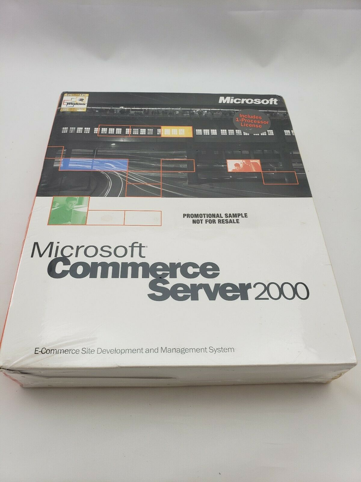 Microsoft Commerce Server 2000 w/1-Processor License 532-00142 English NA INTERN