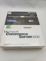 Microsoft Commerce Server 2000 w/1-Processor License 532-00142 English N... - $31.79