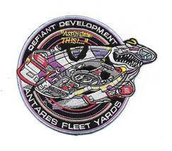 Star Trek: Deep Space Nine Defiant Development Embroidered Patch NEW UNUSED - $8.79