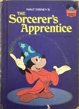 Walt Disney The Sorcerers Apprentice 1973 World Of Reading Vintage Book - $6.99