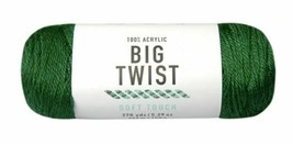 Big Twist Soft Touch Yarn in Forrest (Green) 100% Acrylic 4 Weight Worsted