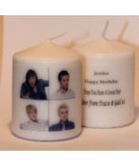 Cellini Candles  McFly Photo Image Personalised Candle Gift Unique  Occa... - $11.69