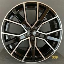 "Audi Style 20"" Wheel Black/Machined Face - $942.48"