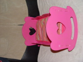 "Pink Doll Musical Crib/Cradle Hold A 14"" Doll - $10.00"