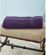 "34"" x 68"" Oversized Zero Twist Cotton Bath Sheets (Plum) - $21.97"